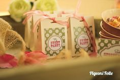 Pigeoni Folle sweet party design