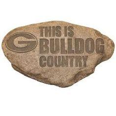 Georgia Bulldogs UGA Personalized Garden Stepping Stone
