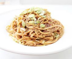 cold sesame noodles | photo by: Karen Covey