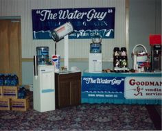 In celebration of our 25th anniversary, every Thursday we post a picture for Throw Back Thursday. #tbt  This is an old image of a display from a show. #thewaterguy