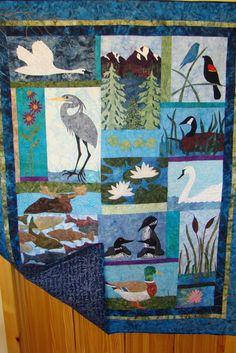 Blackfoot Indian Quilt