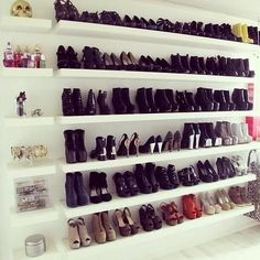 Shoe closet.  I need something for all my shoes! What does everyone do with all their shoes?