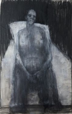 sad_woman #painting #art #abstraction #realism