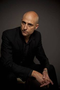 Mark Strong -Tinker Tailor Soldier Spy -Sherlock Holmes -Day Of The Falcon -Stardust. A gorgeous man with a gorgeous voice, just listen to the Jaguar commercials. Mark Strong Actor, Bald Men Style, Man Style, Tinker Tailor Soldier Spy, Actor Headshots, Kingsman, Iconic Movies, British Actors, Famous Faces