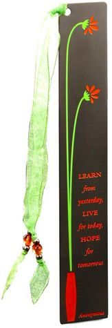 Orange Flower Vase Metal Bookmark Erma Bombeck Quotes, Book Markers, Orange Flowers, Diy Projects To Try, Flower Vases, Home Gifts, Sewing Crafts, Personalized Items, Metal