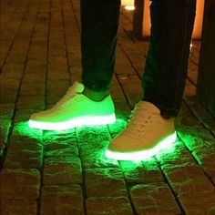 LED Sneakers by Aceversn #AssortedColors, #Cool, #Fantastic, #LED, #Shoes, #Style