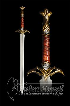 I can see Ruarc carrying this sword (Ateliers Nemesis Eldar sword)