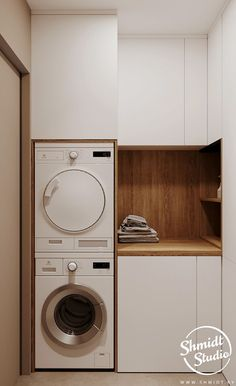 Laundry Closet Makeover, Pantry Laundry Room, Laundry Room Remodel, Laundry In Bathroom, Laundry Room Design, Home Room Design, Bathroom Interior Design, Modern Laundry Rooms, Fancy Kitchens