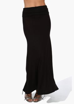 Folder Over Maxi Skirt can be adjusted to any length and they go with everything.