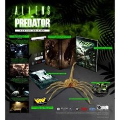 Amazon.com Product Description    Aliens vs Predator is an entirely new title for PC and high-definition consoles from acclaimed British developer Rebellion, the team behind the 1999 original PC gaming classic. Bringing the legendary war between two of science-fictions most popular characters to FPS fans, AvP delivers three outstanding single player campaigns and provides untold hours of unique 3-way multiplayer gaming. Experience distinctly new and thrilling first pe