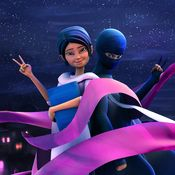 """Lady in Black,"" 'Burka Avenger - When a Burka isn't a tool of oppression . . . New Pakistani superheroine."
