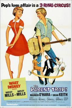 The Parent Trap (1961) starring Hayley Mills, Maureen O'Hara & Brian Keith