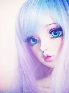 Discovered by La☽isla. Find images and videos about girl, cute and kawaii on We Heart It - the app to get lost in what you love. Beautiful Barbie Dolls, Pretty Dolls, Anime Girl Cute, Anime Art Girl, Kawaii Doll, Kawaii Anime, Girly Drawings, Cute Baby Dolls, Dream Doll