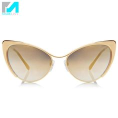cool Sunglasses Women Brand Designer Cat Eye Sun Glasses 6.42 $