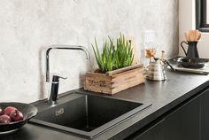 Oras Cubista kitchen faucet