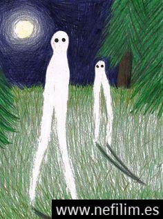 El Aterrador Extraterrestre Nocturno