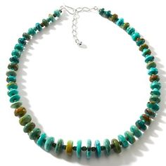 """Jay King Anhui/Hubei Turquoise 18-1/4"""" Necklace at HSN.com."""