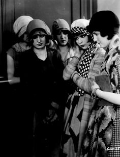Flappers headed to jail for using bad language in public.
