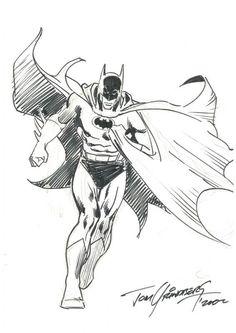 Batman original art by Tom Grindberg 11x17   eBay