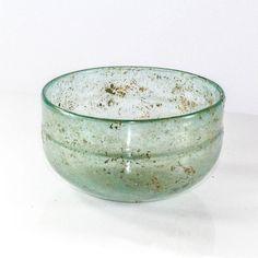 A Roman blue Glass Bowl, ca. 1st century AD