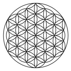 Flower Of Life - sacred geometry symbol