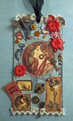 Beadlady5 Talks: And Now It's Altered Art