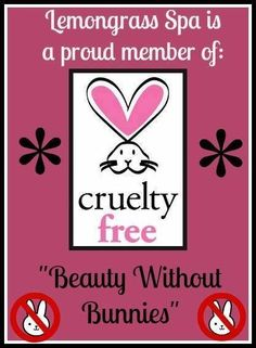 Lemongrass Spa Products are proudly cruelty free! Contact me for info www.OurLemongrassSpa.com/LinnaeaKemp