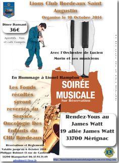 Soirée Musicale le 10 Octobre 2014