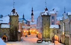 Tallinn, Estonia (by Ed Moskalenko)