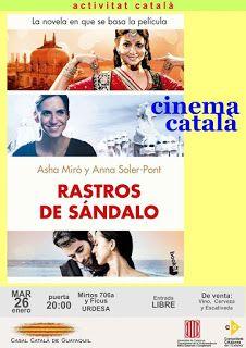 JAN 26 Cinema Català - Rastros de Sándalo