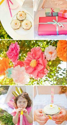 Sweet & Simple Boho Backyard Birthday ‹ Sweet Lulu Blog