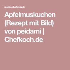 Apfelmuskuchen (Rezept mit Bild) von peidami | Chefkoch.de