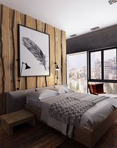 Perfect Rustic Bedroom Interior Design 81 About Remodel Small Home Remodel Ideas with Rustic Bedroom Interior Design Industrial Bedroom Design, Rustic Bedroom Design, Rustic Bedroom Furniture, Rustic Master Bedroom, Bedroom Wall Designs, Wooden Bedroom, Rustic Design, Bedroom Ideas, Wooden Walls