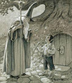 The Wizard's Visit - Greg Hildebrandt