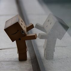 "Danbo... ""let me in..."""