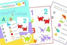 Ziggityzoom.com  Kids Educational Website with online Family fun crafts, games, printables & online parenting blog.