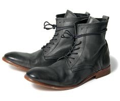 These calf leather casual men\'s boots are one of the favourites here at HQ.\nThe round toe washed Victorian style leather ankle boot with wrap around laces Grey Leather Boots, Grey Boots, Calf Leather, Hudson Shoes, Mens Boots Fashion, Men's Fashion, London Shoes, Shoe Boots, Men's Boots