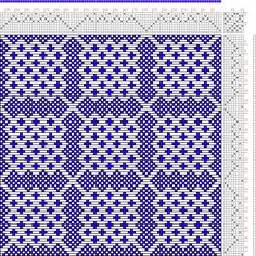 draft image: Page 150, Figure 9, Donat, Franz Large Book of Textile Patterns, 8S, 8T