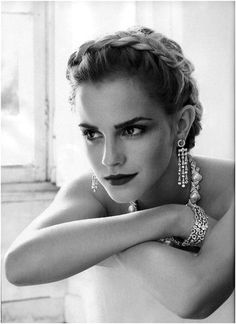 Emma Watson....all grown up and beautiful!