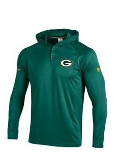 Under Armour Field Green Green Bay Packers NFL Hoodie