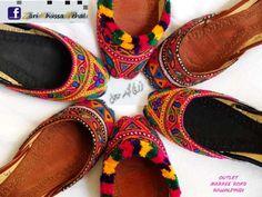 Zari Khussa Mahal shoes