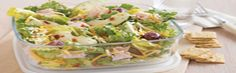 Tossing apples with dressing is the secret to preventing the apples from browning in this salad.