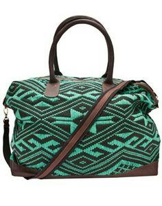 Jade Tribe weekender bag☆