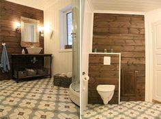 Bilderesultat for gulvbelegg bad Work Surface, Modern Kitchen Design, Toilet, New Homes, Cabin, Mirror, Inspiration, Furniture, Home Decor