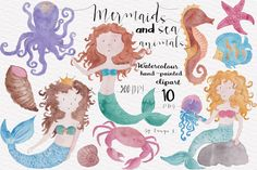 Watercolor Nautical Collection ~ Illustrations on Creative Market