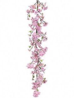 Artificial Decorations Hearty 200cm Fake Sakura Cherry Blossom Flowers Rustic Wedding Decoration Rattan Wall Hanging Flower Garlands For Home Garden Decor With Traditional Methods