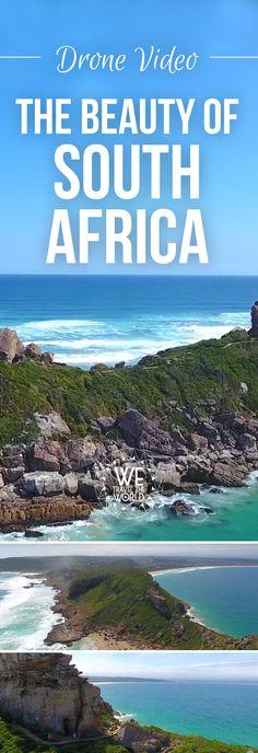 Südafrika Drohnenvideo – Südafrika Landschaft von oben. Das alles wirst du bei deiner Südafrika Rundreise bestaunen können #drohne #landschaft #südafrika