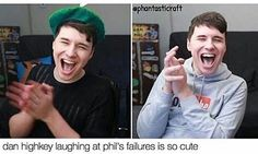 i always root for phil in the dan vs. phil but i admit i adore this dan laugh