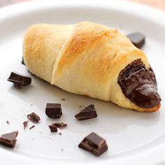 Pain Du Chocolate - This recipe is so simple- you'll spend only minutes preparing, and feel like a French pastry chef.