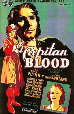CAPTAIN BLOOD - Errol Flynn
